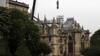 Παναγία των Παρισίων: Εργάτες παραβίασαν την απαγόρευση του καπνίσματος