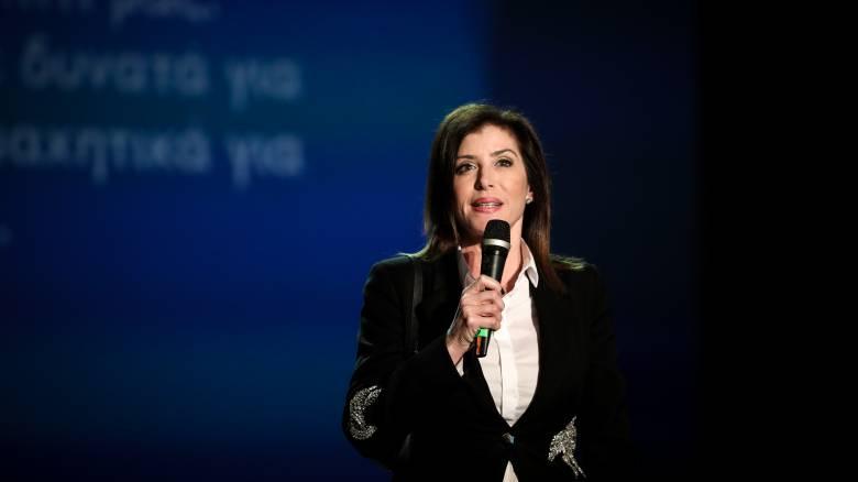 Επιστολή παραίτησης και από την Άννα Μισέλ Ασημακοπούλου