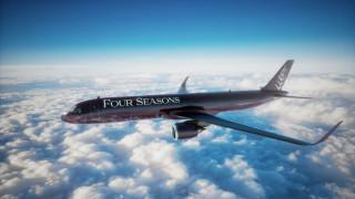Πολυτέλεια πέντε αστέρων στους… αιθέρες: Έτοιμο για αξέχαστα ταξίδια το τζετ της Four Season
