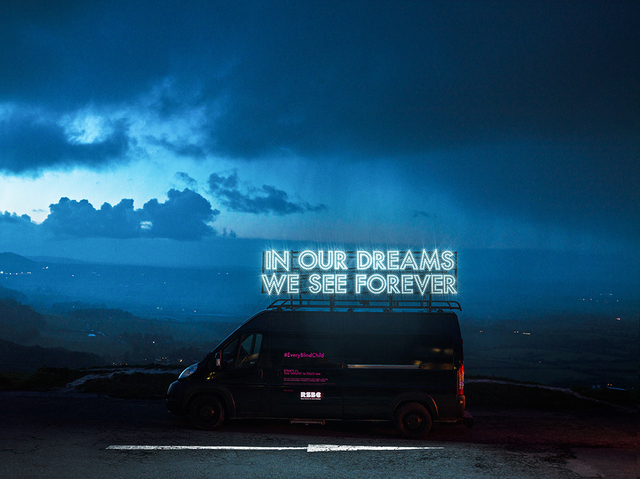 ROBERT MONTGOMERY Commission for the Royal Society for Blind Children 2018 003