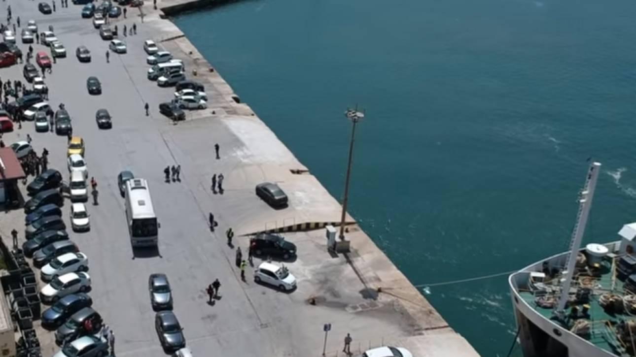 Πάσχα 2019: Drone κατέγραψε το χάος στο λιμάνι της Ηγουμενίτσας – Απίστευτες εικόνες