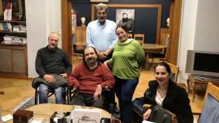 Συνάντηση Πολάκη με τον Πανελλήνιο Σύλλογο Παραπληγικών