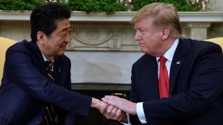 Ο Τραμπ θεωρεί εφικτή την επίτευξη εμπορικής συμφωνίας με το Τόκιο
