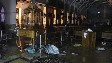 Σρι Λάνκα: Σοκαριστικό βίντεο από τη στιγμή της έκρηξης σε ξενοδοχείο