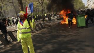 Γαλλία: Νέες συγκρούσεις αστυνομίας - «κίτρινων γιλέκων»