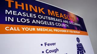 ΗΠΑ: Σε υψηλό 25ετίας ο αριθμός των κρουσμάτων ιλαράς