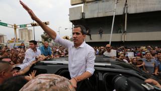Βενεζουέλα: Ο Γκουαϊδό καλεί πολίτες και στρατό σε εξέγερση κατά του Μαδούρο