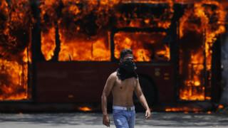 Βενεζουέλα: Δεκάδες τραυματίες από τα επεισόδια