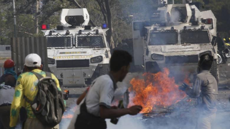 Κρίση στη Βενεζουέλα: «Oι ένοπλες δυνάμεις δεν στηρίζουν πια τον Μαδούρο», λέει ο Γκουαϊδό