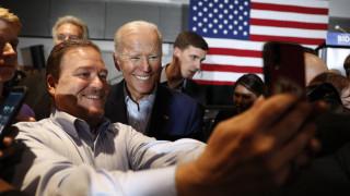 ΗΠΑ: Πρώτος και με διαφορά στους Δημοκρατικούς ο Τζο Μπάιντεν