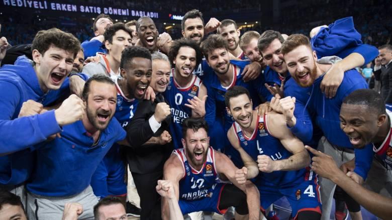 Αναντολού Εφές - Μπαρτσελόνα 80-71: Επιστροφή στο Final-4 μετά από 18 χρόνια