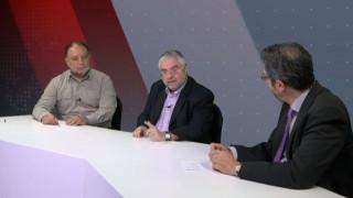 Αντιλογίες: Θόδωρος Τσίκας και Αντώνης Δραγανίγος στο στούντιο του CNN Greece