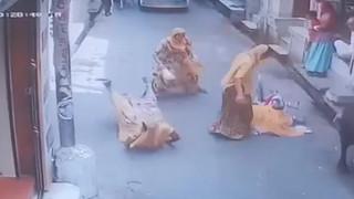 Ινδία: Ταύρος έπεσε πάνω σε πλήθος - Παρέσυρε μια μητέρα με το μωρό της