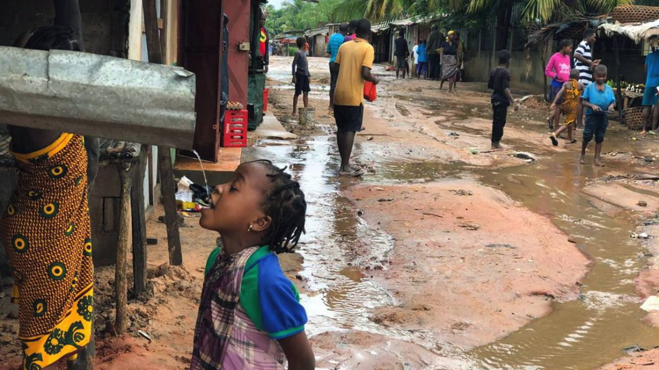 Μοζαμβίκη: Επιδημία χολέρας μία εβδομάδα μετά το πέρασμα του κυκλώνα Κένεθ