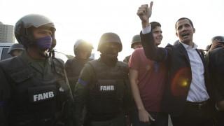 Βενεζουέλα: Ο Γκουαϊδό «ξαναχτυπά» και προσπαθεί να στρέψει το στρατό κατά του Μαδούρο