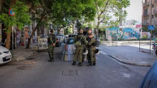 Εξάρχεια: Αντιεξουσιαστές προχώρησαν σε ανακατάληψη κτηρίου