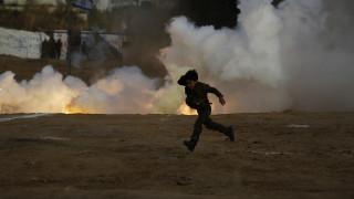 Λωρίδα της Γάζας: Συγκρούσεις και ισραηλινά αεροπορικά πλήγματα με νεκρούς και δεκάδες τραυματίες