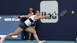 Η Σάκκαρη κατέκτησε τον πρώτο τίτλο της καριέρας της στο Μαρόκο!