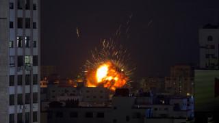 Νύχτα πολέμου στη Γάζα: Ρουκέτες, επιδρομές και επτά νεκροί