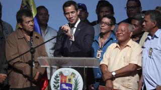 «Εγκαταλείψτε τον Μαδούρο» καλεί το στρατό ο Γκουαϊδό - Σε ετοιμότητα η κυβέρνηση Μαδούρο