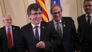 Ο Κάρλες Πουτζντεμόν έχει δικαίωμα να θέσει υποψηφιότητα στις ευρωεκλογές