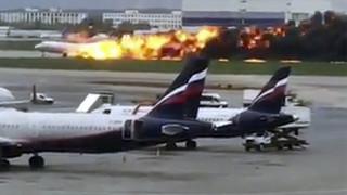 Τραγωδία στη Ρωσία: Νεκροί και τραυματίες στο φλεγόμενο αεροσκάφος