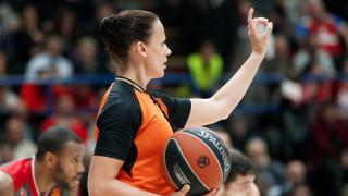 Euroleague: Φέτος γράφεται ιστορία - Η πρώτη γυναίκα διαιτητής σε φάιναλ φορ