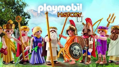 Η PLAYMOBIL «φέρνει» τον μυθικό Όλυμπο πιο κοντά στα παιδιά!