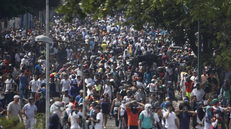 Βενεζουέλα: Πέντε νεκροί και 233 συλλήψεις στις ταραχές της προηγούμενης εβδομάδας