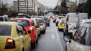 Κίνηση στους δρόμους: Αυξημένη στην Αθήνα - Σε ποια σημεία έχει μποτιλιάρισμα