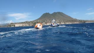 Κατάφερε το αδιανόητο: Διέπλευσε τον Ατλαντικό σε βαρέλι από κόντρα πλακέ