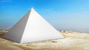 Μεγάλη Πυραμίδα της Γκίζας: Είναι ένα από τα αρχαιότερα μνημεία του κόσμου. Η κατασκευή της τελείωσε το 2.560 π.Χ και αποτελούσε το υψηλότερο κτίσμα που είχε φτιαχτεί από ανθρώπους για περισσότερα από 3.800 χρόνια. Η Πυραμίδα του Χέοπα είναι η αρχαιότερη