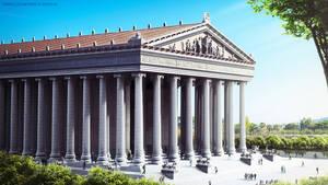 Ναός της Αρτέμιδος της Εφέσου: Χτίστηκε και καταστράφηκε τρεις φορές σε μία περίοδο επτά αιώνων. Η αρχική κατασκευή κάηκε από τον Ηρόστρατο, έναν εμπρηστή που ήθελε να καταστρέψει τον ναό της Αρτέμιδος. Τη δεύτερη φορά καταστράφηκε κατά τη διάρκεια εισβολ