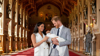 Βασιλικό μωρό: Χάρι και Μέγκαν παρουσίασαν τον γιο τους
