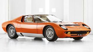 Η πορτοκαλί Lamborghini Miura P400 της ταινίας «The Italian Job» έγινε σαν καινούργια