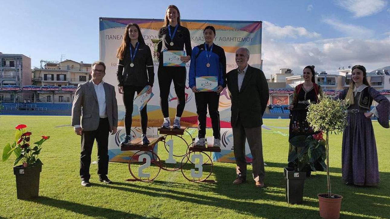 Πανελλήνιοι Σχολικοί Αγώνες: Παγκόσμιο ρεκόρ στον ακοντισμό από την Ελίνα Τζένγκο