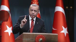 Επιμένει ο Ερντογάν: Παραβιάζονται τα δικαιώματά μας σε Ανατολική Μεσόγειο και Αιγαίο