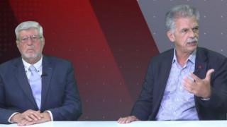 Αντιλογίες: Σπύρος Δανέλλης και Αλέξανδρος Μαλλιάς στο στούντιο του CNN Greece
