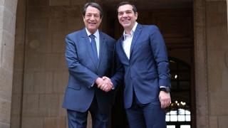 Συνάντηση Τσίπρα – Αναστασιάδη για την τουρκική προκλητικότητα στην κυπριακή ΑΟΖ