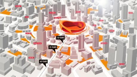 Πιο «έξυπνες» πόλεις λόγω νέων ποδοσφαιρικών γηπέδων!