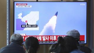 Η Βόρεια Κορέα προχώρησε στη δοκιμή ενός όπλου «μεγάλου βεληνεκούς»