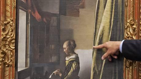 Ο κρυμμένος «έρωτας» στον πίνακα του Γιοχάνες Βερμέερ