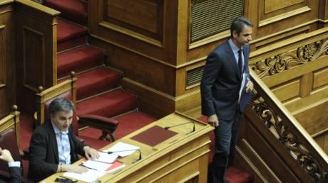 Βουλή: Σύγκρουση Μητσοτάκη - Τσακαλώτου για την ανισότητα