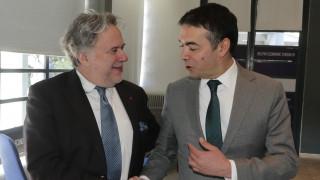 Στα Σκόπια αύριο ο Κατρούγκαλος - Θα συναντηθεί με τον Ντιμιτρόφ