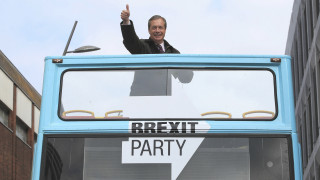 Βρετανία: Πρώτο με διαφορά το «Brexit Party» του Νάιτζελ Φάρατζ