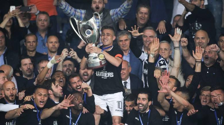Νταμπλούχος Ελλάδας 2019 ο ΠΑΟΚ: Νίκησε 1-0 την ΑΕΚ στον τελικό του Κυπέλλου