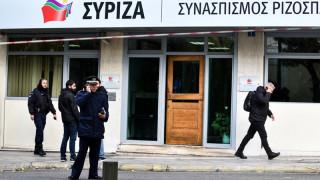 Επίθεση με μολότοφ στα γραφεία του ΣΥΡΙΖΑ