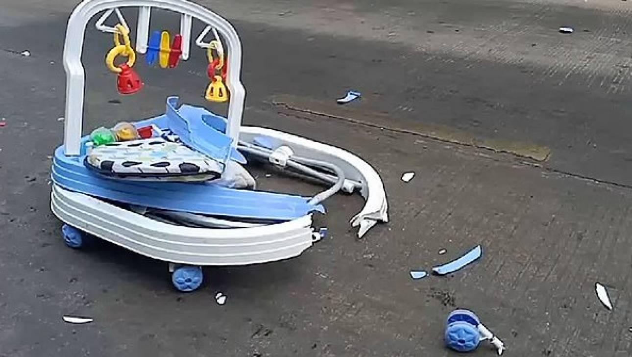 Σοκαριστικό δυστύχημα στην Ταϊλάνδη: Βρέφος 8 μηνών παρασύρθηκε από φορτηγό