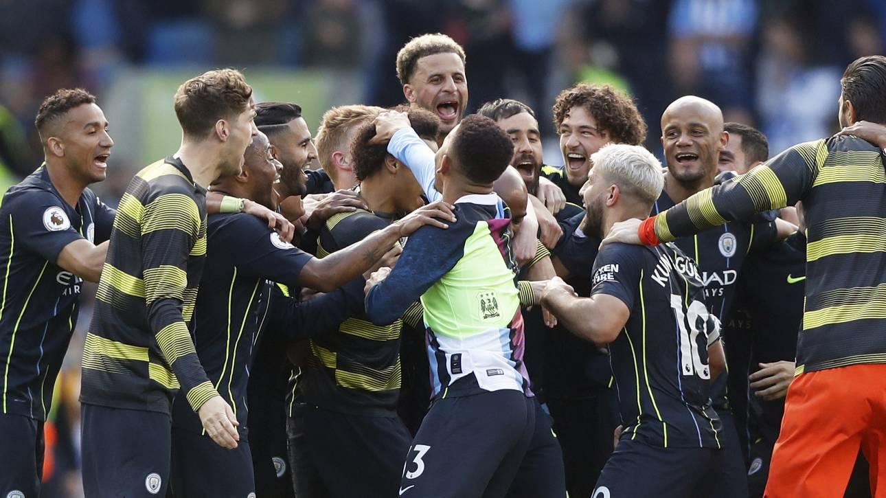 Premier League: Πρωταθλήτρια Αγγλίας για δεύτερη συνεχόμενη χρονιά η Σίτι