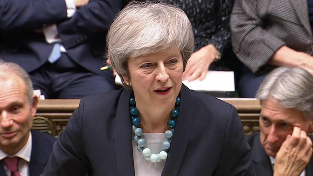 Βρετανία: Νέα ψηφοφορία για το Brexit θα ζητήσει η Τερέζα Μέι